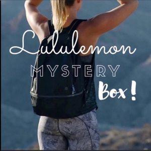 2⁉️LEFT Lululemon mystery boxes